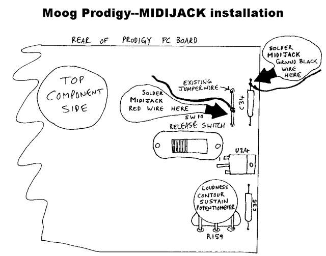 moog prodigy analog user modifications