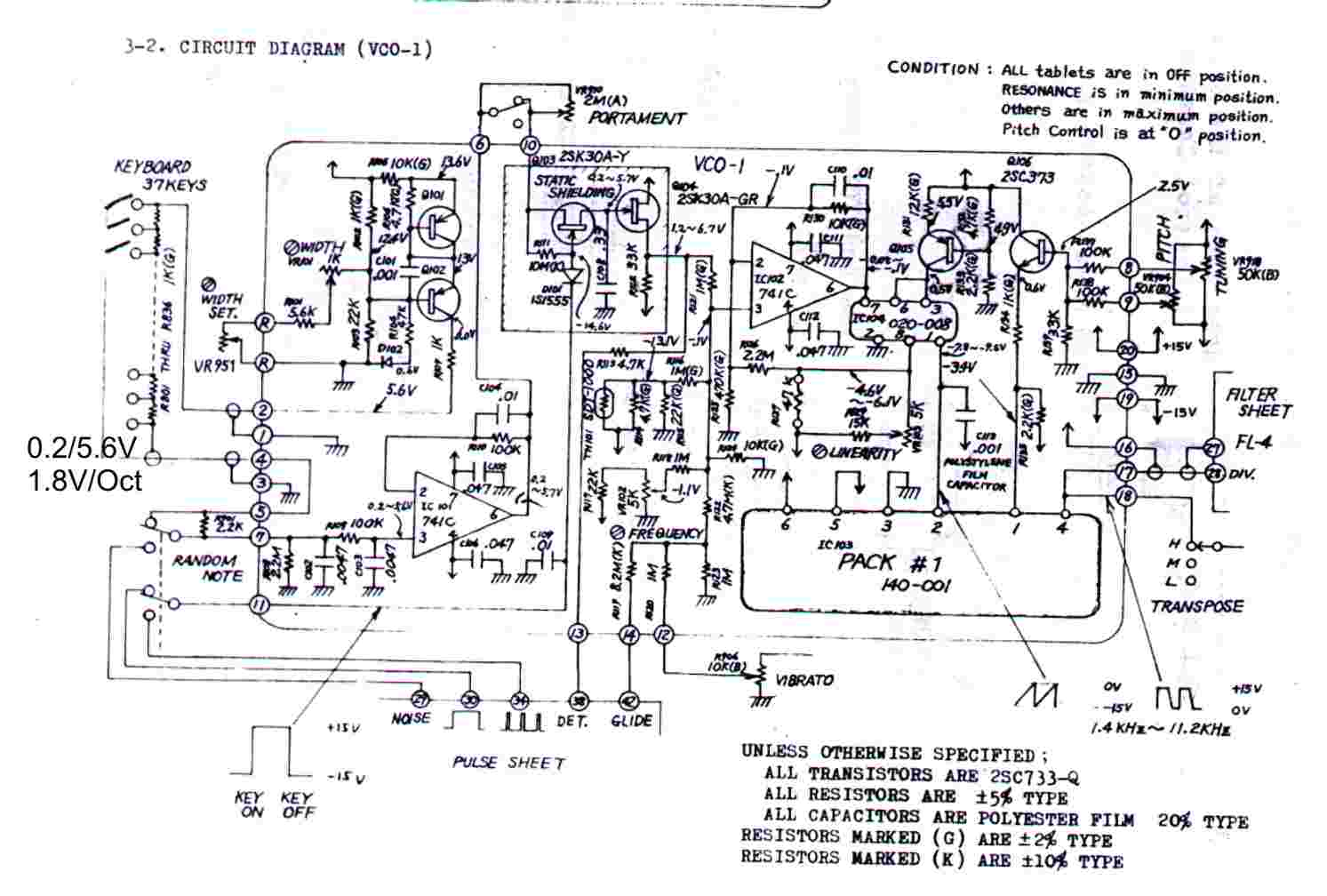 Roland Sh 1000 Analog User Modifications Volvo S70 T5 Engine Diagram